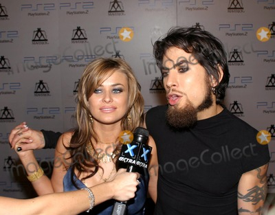 Carmen Electra, Dave Navarro Photo - Mtv Video Music Awards. Playstaion 2 After Party. New York City. Photo:rick Mackler / Rangefinders / Globe Photos Inc 2003 08/28/2003 Carmen Electra_dave Navarro