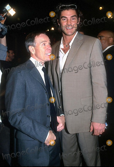 Evan Marriott, Tommy Hilfiger Photo - Tommy Hilfiger Fall 2003 Fashion Show, New York City 02/12/2003 Photo: Barry Talesnick/ Ipol/ Globe Photos Inc. 2003 Evan Marriott and Tommy Hilfiger