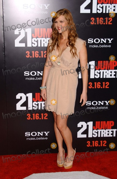 "Sara Rue Photo - Sara Rue attends the Premiere of ""21 Jump Street""at the Chinese Theater in Hollywood.,ca on March 13 2012. Photo by Phil Roach-ipol-Globe Photos 2012 ."