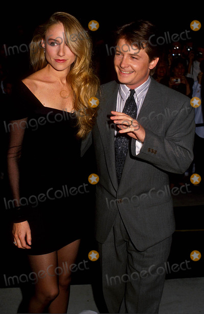 Photos And Pictures Michael J Fox With His Wife Tracy