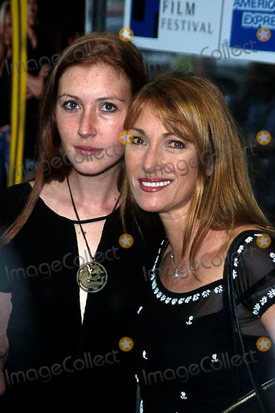 Jane Seymour, Katie Flynn, John B Photo - 2003 Tribeca Film Festival the Italian Job Premiere at the Tribeca Performing Arts Center, New York City 05/11/2003 Photo: John B Zissel/ Ipol/ Globe Photos Inc. 2003 Jane Seymour and Daughter Katie Flynn
