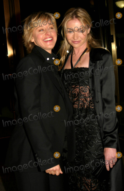 Ellen Degeneres, Portia De Rossi, Ellen DeGeneres] Photo - 32nd Annual Daytime Emmy Awards Radio City Music Hall New York City 05-20-2005 Photo by Barry Talesnick-ipol-Globe Photos 2005 Ellen Degeneres Portia DE Rossi