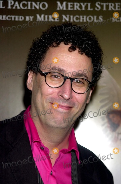 "Tony Kushner Photo - Premiere of Hbo's Movie ""Angels in America"". the Ziegfeld Theatre, New York City. Photo: John Krondes / Globe Photos Inc 2003 11/4/2003 Tony Kushner"
