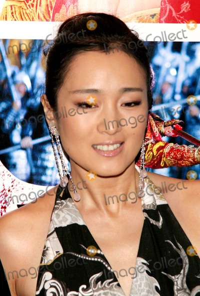 "Gong Li, John B Photo - New York Premiere of ""Curse of the Golden Flower"" - Arrivals Alice Tully Hall-nyc- 11/27/06 Gong Li Photo by: John B. Zissel-ipol-Globe Photos, Inc 2006"