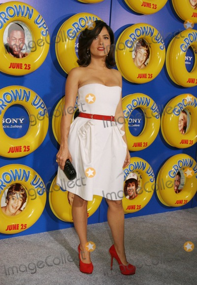 "Salma Hayek Photo - a Screening of Columbia Pictures' ""Grown Ups"" at the Ziegfeld Theater in New York City on 06-23-2010 Photo by Paul Schmulbach-Globe Photos, Inc. Salma Hayek"