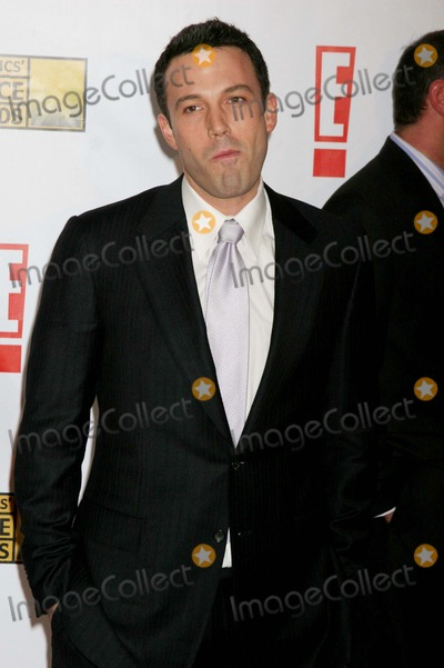 Ben Affleck Photo - 12 Annual Critics' Choice Awards - Red Carpet Santa Monica Civic Auditorium, Santa Monica, CA 01-12-2007 Ben Affleck Photo: Clinton H. Wallace-photomundo-Globe Photos Inc