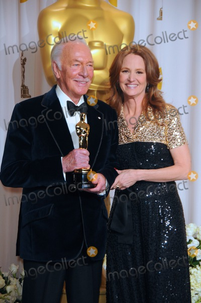 Melissa Leo, Christopher Plummer Photo - Christopher Plummer,melissa Leo 84th Annual Academy Awards - Pressroom Held at the Hollywood & Highland Center , Los Angeles,ca. February 26 - 2012.photo: D.long/Globephotos