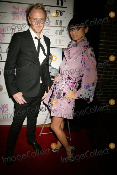 Darren Darnborough, Bai Ling Photo - . 'Andy & Chazz Bugger Off to America' Premiere Screening Dim Mak Studios, Hollywood, CA 06/29/2011 Bai Ling and Darren Darnborough photo: Clinton H. wallace-photomundo-globe Photos Inc 2011