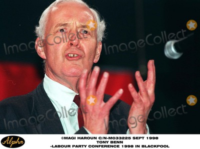 Tony Benn Photo - Sept 1998 Tony Benn Attend the Labour Party Conference 1998 in Blackpool