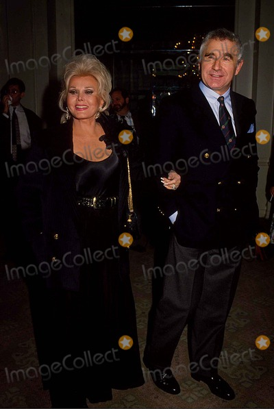 Zsa Zsa Gabor, Frederic von Anhalt Photo - Zsa Zsa Gabor with Frederic Von Anhalt at Golden Globe Awards 12-1992 #16522 Photo by Phil Roach-ipol-Globe Photos, Inc.