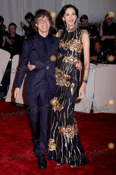 Mick Jagger, Alexander McQueen Photo - The Metropolitan Museum of Art Costume Institute  gala