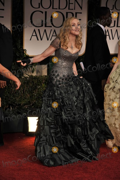 Madonna Photo - The 69th Annual Golden Globes - Red Carpet Arrivals- Beverly Hills, CA 1/15/2012 Photo by Joe White-Globe Photos, Inc. Madonna