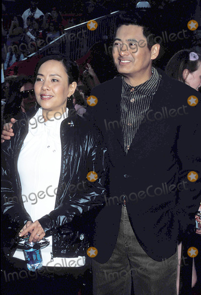 Chow Yun Fat, Chow Yun-Fat Photo - Pirates of the Caribbean:at World's End Premiere, Disneyland, Anaheim, CA 05-19-2007 Photo by Phil Roach-ipol-Globe Photos, Inc2007 I11918pr Chow Yun Fat_wife