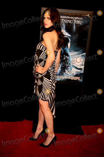 "Alexandra Daddario Photo - ""Percy Jackson and the Olympians: the Lightning Thief"" Screening Amc Loews Lincoln Center, NYC February 4, 2010 Photo by Sonia Moskowitz, Globe Photos Inc 2010 Alexandra Daddario"