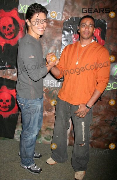 "Photo - Xbox 360 - ""Gears of War"" Launch Party Hosted by Microsoft Game Studios and Epic Games Hollywood Forever Cemetery, Los Angeles, CA 10-25-2006 Photo: Clinton H. Wallace-photomundo-Globe Photos Inc"