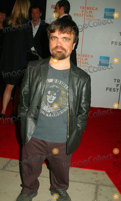 "Peter Dinklage Photo - "" Lake City "" Premiere at the 7th Annual of Tribeca Film Festival. New York City 04-25-2008 Photo by Mitchell Levy-Globe Photos, Inc. Peter Dinklage"