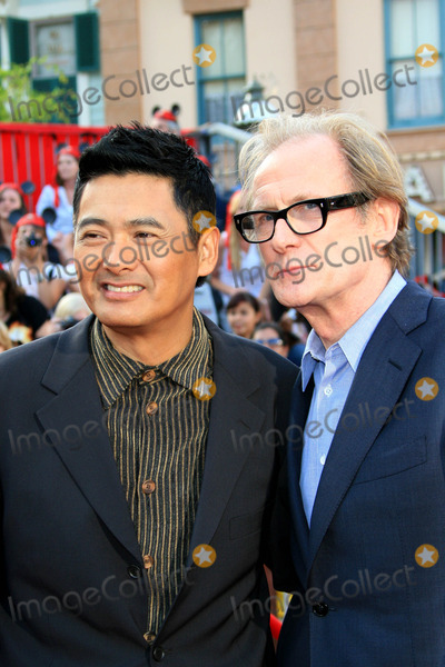 Bill Nighy, Chow Yun Fat, Chow Yun-Fat Photo - Chow Yun Fat and Bill Nighy - Pirates of the Caribbean at Worlds End - World Premiere - Disneyland, Anaheim, California - 05-19-2007 - Photo by Nina Prommer/Globe Photos Inc 2007
