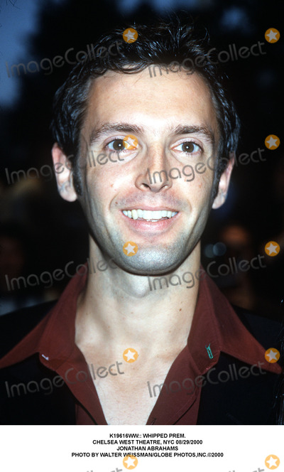 Photo - :: Whipped Prem. Chelsea West Theatre, NYC 08/29/2000 Jonathan Abrahams Photo by Walter Weissman/Globe Photos,inc.