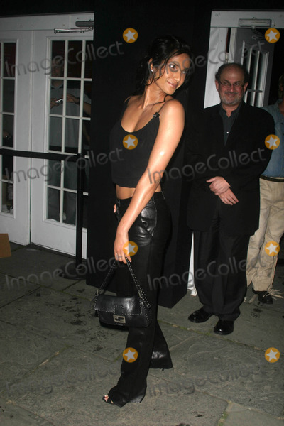 Padma Lakshmi Photo - Mercedes-benz Fashion Week Luca Luca Spring 2004 Collection Bryant Park, New York City 09/14/2003 Photo by John Barrett/Globe Photos Inc 2003 Padma Lakshmi