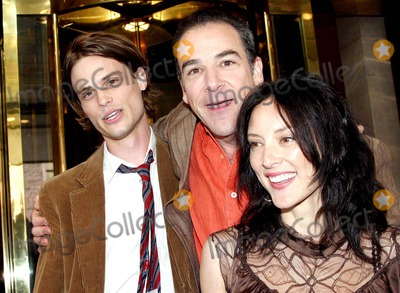 Lola Glaudini, Mandy Patinkin, Matthew Gubler Photo - Celebs From the Upfronts Out and About in New York City 05-18-2005 Photo: Barry Talesnick / Ipol / Globe Photos Inc 2005 Matthew Gubler , Mandy Patinkin and Lola Glaudini