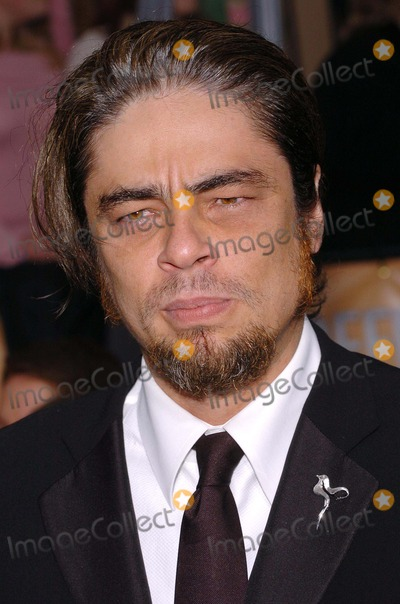 Benicio Del Toro Photo - 10th Annual Screen Actors Guild Awards Arrivals at the Shrine Auditorium in Los Angeles, California 02/22/2004 Photo by Fitzroy Barrett/Globe Photos Inc. 2004 Benicio Del Toro