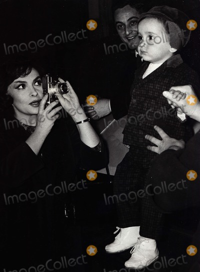 Gina Lollobrigida Photo - Gina Lollobrigida with Son Milko Skofic Jr. Supplied by Globe Photos, Inc.