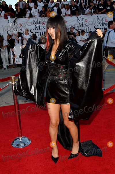 Bai Ling Photo - Mr. and Mrs. Smith World Premiere at Mann Village Theater in Westwood, CA. 06-07-2005 Photo by Fitzroy Barrett /Globe Photos Inc. 2005 Bai Ling