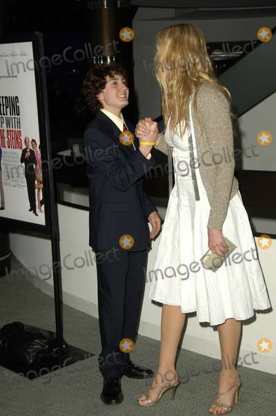 "Daryl Sabara, Daryl Hannah Photo - ""Keeping Up with the Steins"" Los Angeles Premiere at the Pacific Design Center, West Hollywood, California 05-08-2006 Photo by Michael Germana-Globe Photos, Inc. 2006 Daryl Sabara and Daryl Hannah"