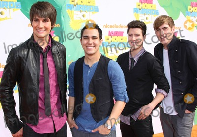 Big Time Rush, Big Time, Rush Photo - Big Time Rush Actors and Singers Nickelodeon's 24th Annual Kids' Choice Awards Held at the Galen Center in Los Angeles, California on 04-02-2011 photo by: Graham Whitby Boot-allstar - Globe Photos, Inc.