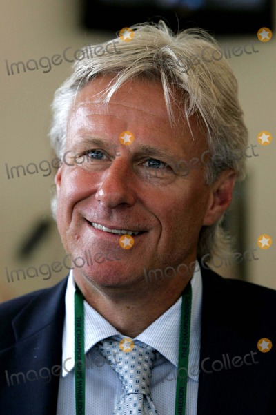 Bjorn Borg Photo - Bjorn Borg at the Hsbc Marquee, Wimbledon Tennis Championships 07-06-2008 Photo by Neil Tingle-allstar-Globe Photos, Inc. 2008