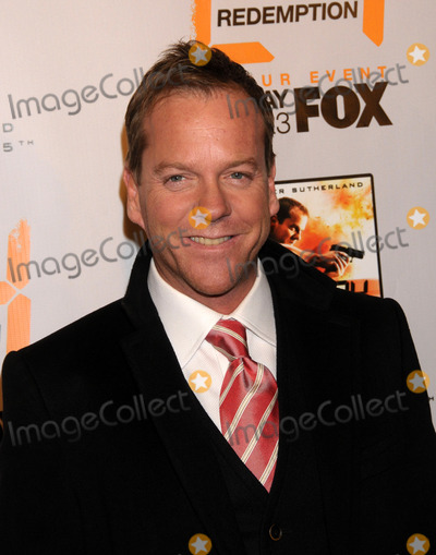 "Kiefer Sutherland Photo - World Premiere ""24 Redemption"". Amc Empire 25 Theater, NYC. 11-19-2008 Photo by Ken Babolcsay-ipol-Globe Photos 2008 Kiefer Sutherland"
