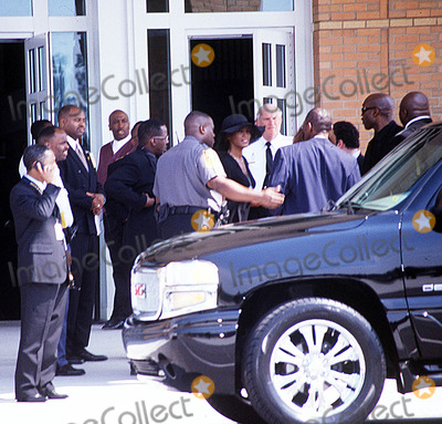 "Whitney Houston, Left Eye Lopes, Lisa ""Left Eye"" Lopes Photo - Funeral"