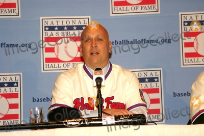 Cal Ripken, Cal Ripken Jr. Photo - Baseball Hall of Fame Press Conference at the Waldorf Astoria Hotel, New York City 01-10-2007 Photo by Barry Talesnick-ipol-Globe Photos, Inc. 2007 Cal Ripken Jr