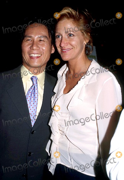 "Edie Falco, B.D. Wong, B D Wong Photo - B.d. Wong and Edie Falco K30794psc B. D. Wong Book Party :Following Foo"" at Ruby Foo in New York City 5/20/2003 Photo By:paul Schmulbach/Globe Photos, Inc"