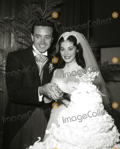 Pier Angeli, Vic Damone Photo - Vic Damone and Pier Angeli Wedding Photo: Larry Barbier Jr/Globe Photos Inc