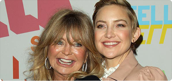 Goldie Hawn and daughter Kate Hudson Photo
