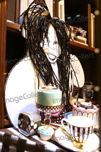 Al Hirschfeld, Whoopi Goldberg, Whoopie Goldberg Photo - Hirschfeld Three dimensional drawing of Whoopi Goldberg photographed in New York City on November 19, 2013. Al Hirschfeld, whose legendary quill pen captured virtually every well-known performing artist of the 20th century, will be celebrated by Henri Bendel. The Hirschfeld Spectacular will be on display throughout the Henri Bendel flagship store until January 2, 2014.  Credit: McBride/face to face