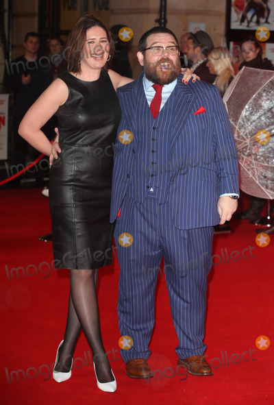 Photos and Pictures LONDON UK FEBRUARY 06 NickNick Frost Wife
