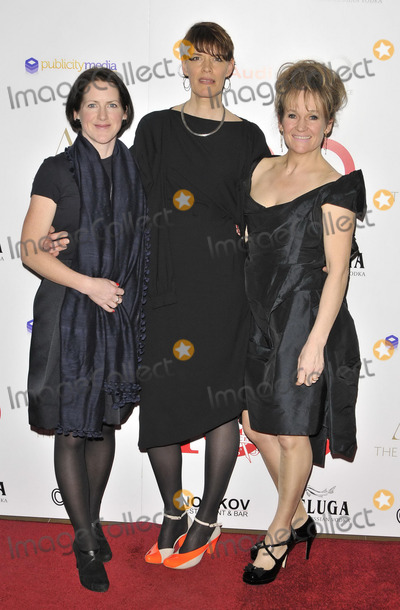 Clio Barnard, Lorraine Ashbourne Photo - LONDON, ENGLAND - FEBRUARY 02: Tracy O'Riordan, Clio Barnard & Lorraine Ashbourne attend the London Critics' Circle Film Awards 2014, May Fair Hotel, Stratton St., on Sunday February 02, 2014 in London, England, UK.CAP/CAN Can Nguyen/Capital Pictures/face to face - Germany, Austria, Switzerland and USA rights only -
