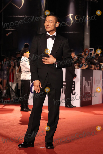 Andy Lau Photo - Andy Lau arrives at the redcarpet of 50th Golden Horse Awards in Taipei,China on Saturday November 23,2013. Credit: Topphoto/face to face - No rights for China and Taiwan -