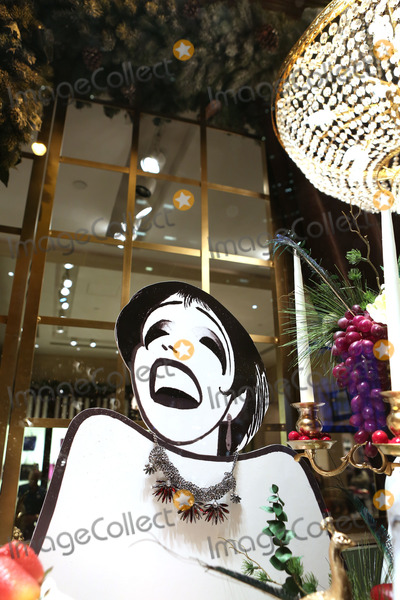 Al Hirschfeld, Liza Minnelli Photo - Hirschfeld Three dimensional drawing of Liza Minnelli photographed in New York City on November 19, 2013.