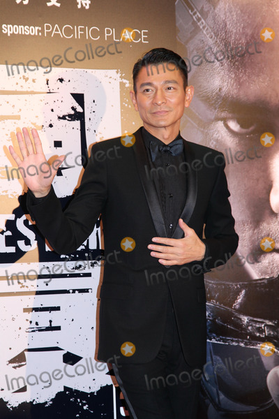 Andy Lau Photo - Actor Andy Lau attends premiere of film Firestorm at AMC Pacific Place in Hong Kong,China on Sunday December 15,2013. Credit: Topphoto/face to face - No rights for China and Taiwan -