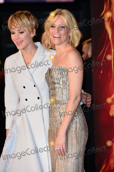 Elizabeth Banks, Jennifer Lawrence Photo - Jennifer Lawrence (Actress) and Elizabeth Banks (Actress) attending the Germany premiere of the movie DIE TRIBUTE VON PANEM Ae CATCHING FIRE at CineStar Sony Center Potsdamer Platz in Berlin. Berlin, 12.11.2013. Credit: Timm/face to face