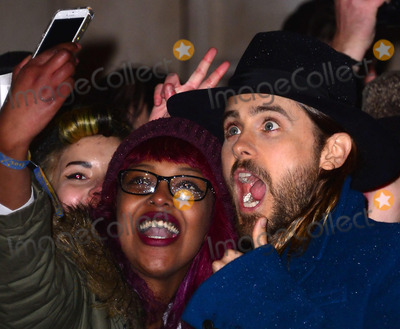 Jared Leto Photo - Jared Leto attends the UK Premiere of 'Dallas Buyers Club' at The Curzon Mayfair on January 29, 2014 in London, England.  CAP/JOR Nils Jorgensen/Capital Pictures/face to face - Germany, Austria, Switzerland and USA rights only -