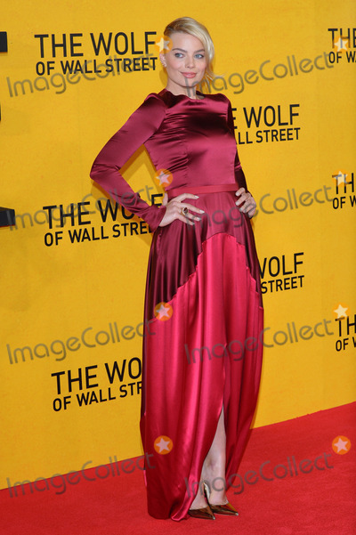 Margot Robbie Photo - Margot Robbie attends the UK Premiere of The Wolf of Wall Street at London's Leicester Square on January 9, 2014 in London, England. Credit: Capital Pictures/face to face - Germany, Austria, Switzerland and USA rights only -