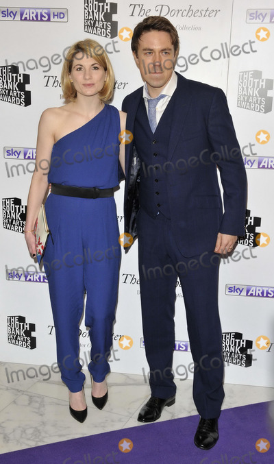 andrew buchan, Jodie Whittaker Photo - LONDON, ENGLAND - JANUARY 27: Jodie Whittaker & Andrew Buchan attend the South Bank Sky Arts Awards 2014, The Dorchester Hotel, Park Lane, on Monday January 27, 2014 in London, England, UK.