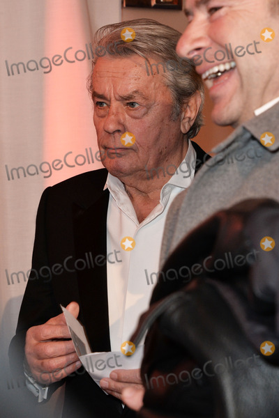 "Alain Delon Photo - Alain Delon arriving for the ""326 Years Lambertz Monday Night 2014"" Event in the Alter Wartesaal Cologne. Cologne 27.01.2014. Credit Timm/face to face"