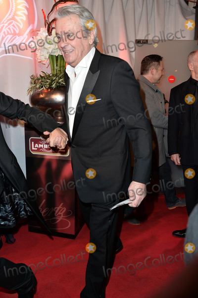 """Alain Delon Photo - Alain Delon arriving for the """"326 Years Lambertz Monday Night 2014"""" Event in the Alter Wartesaal Cologne. Cologne 27.01.2014. Credit Timm/face to face"""
