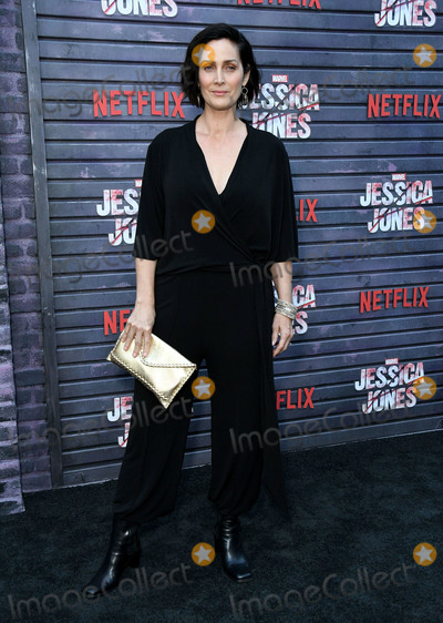 "Carrie-Anne Moss, Carrie Ann Moss, Carrie Anne Moss, Carrie Anne Moss, Carrie-Ann Moss, Jessica Jones Photo - 28 May 2019 - Hollywood, California - Carrie-Anne Moss. Special Screening Of Netflix's ""Jessica Jones"" Season 3 held at Arclight Hollywood. Photo Credit: Birdie Thompson/AdMedia"