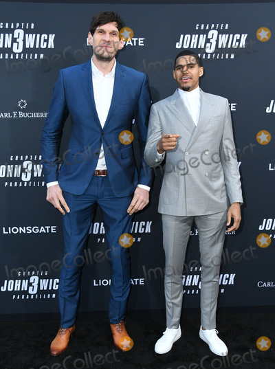 "TCL Chinese Theatre, John Wicks Photo - 15 May 2019 - Hollywood, California - Boban Marjanovic, Tobias Harris. ""John Wick: Chapter 3 - Parabellum"" Special Screening Los Angeles held at the TCL Chinese Theatre. Photo Credit: Birdie Thompson/AdMedia"